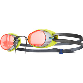TYR Socket Rockets 2.0 Mirrored Googles Red/Yellow